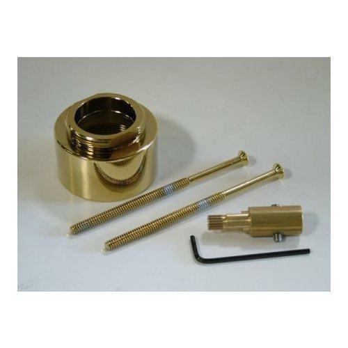 Ext Rod (Kingston Brass KBRP3632EXT Restoration (1)Ext. Rod, (2)Ext. Screws & (1)Cap For KB3632Al Series, Polished Brass by Kingston Brass)