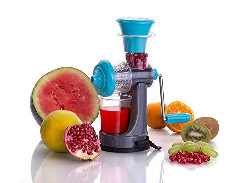 Floraware Fruit and Vegetable Nano Manual Juicer, Blue