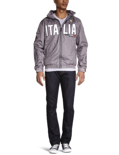 Geographical Norway Bastos - Blouson - Manches longues - Homme Gris (Grey)