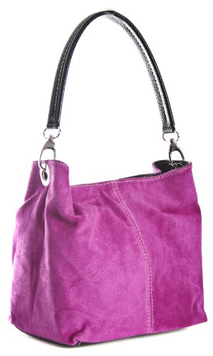Big Handbag Shop, Borsa a spalla donna One Rosa (Magenta)