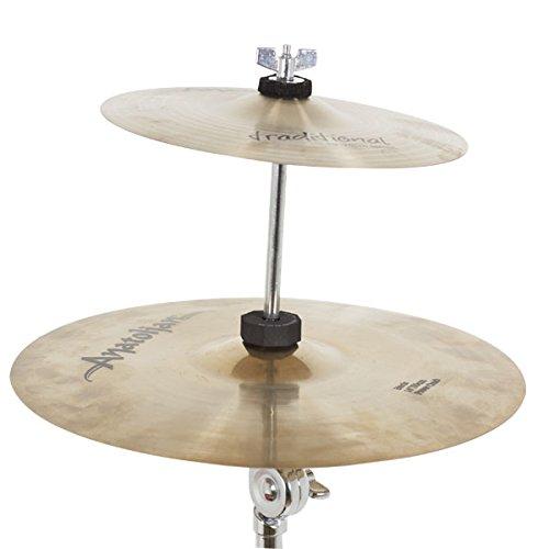 DB Percussion db0617–Halterung Tablett stapelbar, Farbe chrom