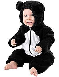 zolimx_bebé Bodies para Bebé de Invierno, Recién Nacido Niñas Niños Mangas Largas Mantenga la Historieta Caliente Mameluco con Capucha Monos