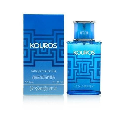 Kouros 3.3 Ounce Spray (Kouros Tatoo Collector Edition by Yves Saint Laurent for Men 3.3 oz Energizing Eau de Toilette Spray 2007 Limited Edition by Yves Saint Laurent)
