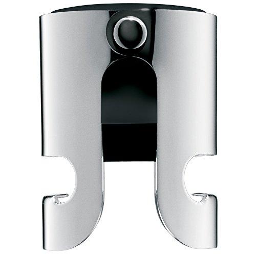 WMF Clever&More Sekt-/Flaschenverschluss, Cromargan Edelstahl mattiert, H 5cm, Ø 4cm
