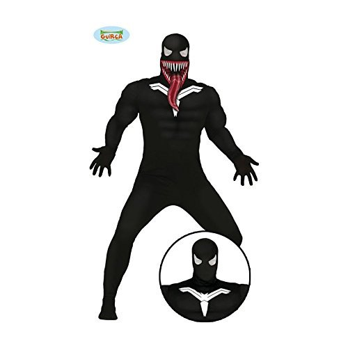 Imagen de disfraz de superhéroe oscuro adulto talla l