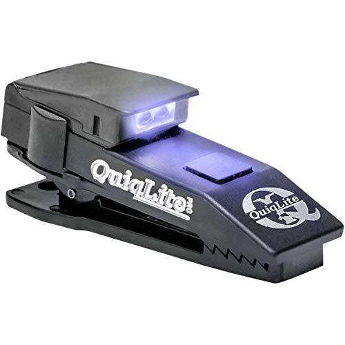Frei-licht-lampe (QuiqLite(TM) PRO-UV Hand-Frei LED-Lampe (ultraviolett/weiß))
