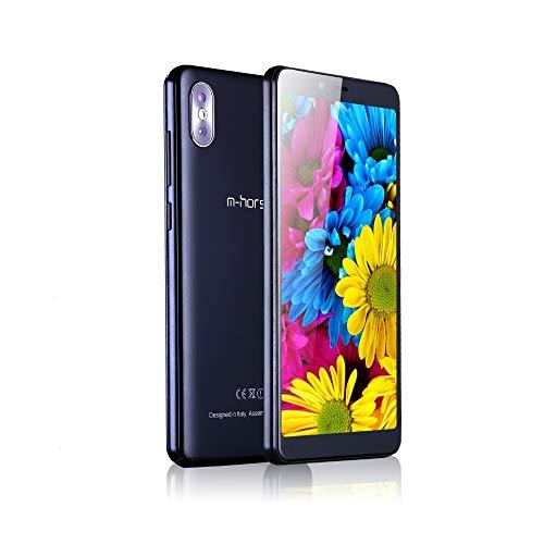 M-HORSE M2S 5.5' 18:9 Pantalla Android 8.1 16GB 1GB 13MP Cámara Trasera Doble 2 SIM móvil Smartphone