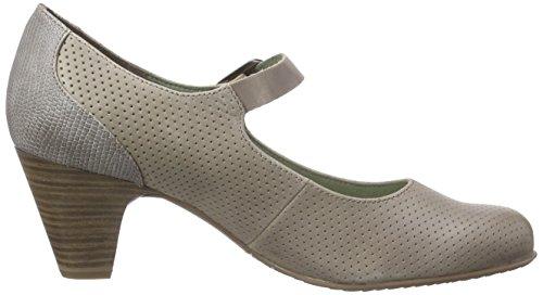 Tamaris 24405, Chaussures à talons - Avant du pieds couvert femme Marron - Braun (PEPPER COMB 301)