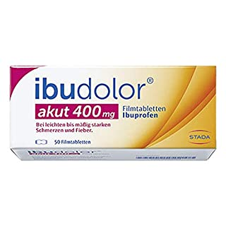 Ibudolor akut 400mg 50 stk