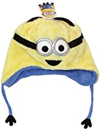 f122ea2724f Official Licensed Despicable Me Laughing Peruvian Hat Bob The Minion Design  Age 4-8 Years