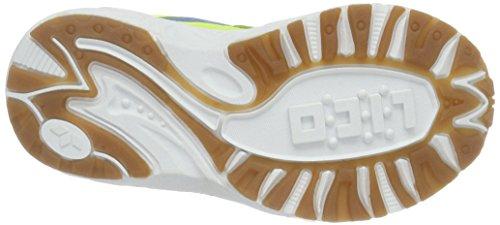 Lico  Bob V, Chaussures indoor enfant mixte Jaune (Gelb/Blau)