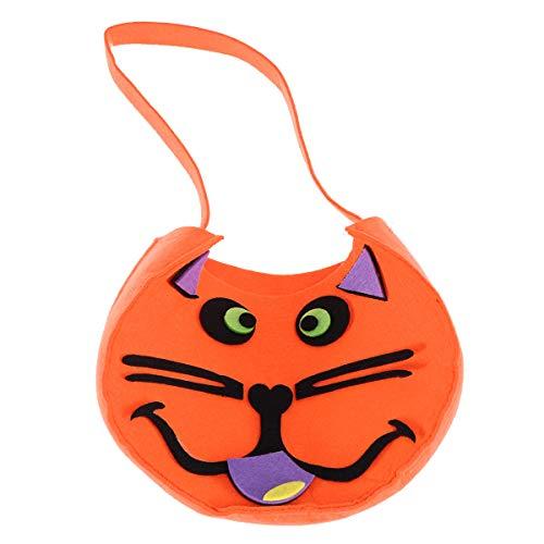 Amosfun Kürbis-Süßigkeit-Halter mit Drawstring-Festlichkeits-Taschen für Halloween-Partei-Dekors-Geschenk-Taschen