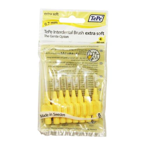 TePe Extra Soft Interdentalbürsten Brushes 1Packung (8Bürsten) (8 Interdentalbürsten)
