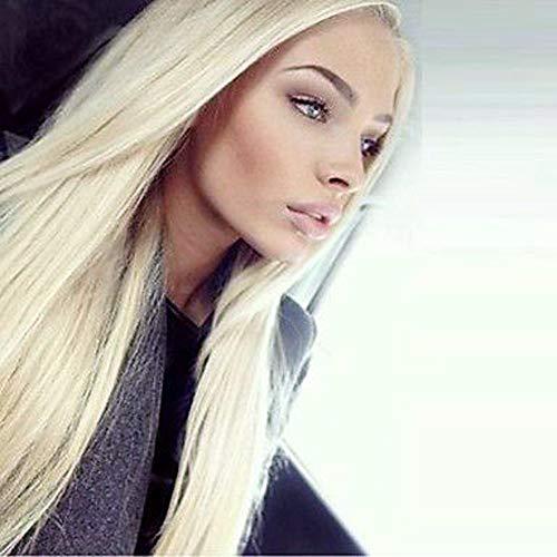 Trend jewelryPeluca Lace Front Sintéticas Recto Kardashian Estilo Encaje Frontal Peluca Rubio Blonde Pelo sintético Mujer Entradas Naturales / Raya en Medio Rubio Peluca Larga:Blonde