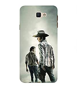 Takkloo a movie scene guy with hat,hollywood movie, amazing picture) Printed Designer Back Case Cover for Samsung Galaxy J7 Prime (2016)