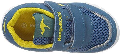 KangaROOSInlite 3003B - Bebè  Unisex - Bimbi 0-24 Blue/Acid Yellow