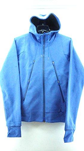 Jordan Fleece Hoody (Nike [688990-456] Air Jordan AJ Fleece Hoody Apparel Hoody Air jordanbluem, Herren, blau)