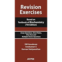 Amazon dm vasudevan books revision exercises based on textbook of biochemistry essay questions short notes viva fandeluxe Gallery