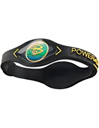 Power Balance – Core – Negro/Amarillo/Plata – Xl