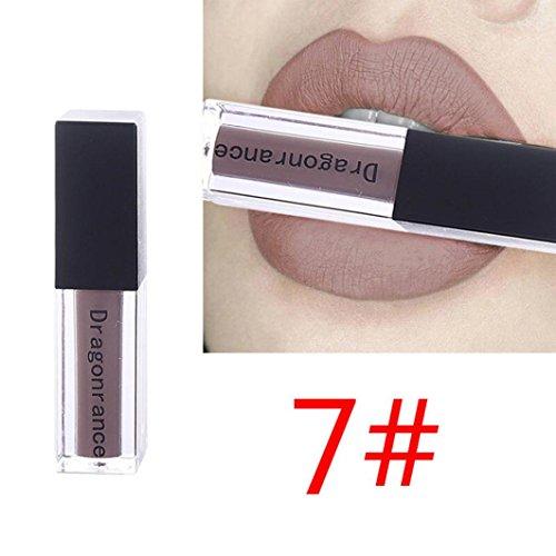 Dragon Rance Kosmetik Matte Lip Gloss & Lip Brillant Feuchtigkeitsspendende langlebige Glanz...