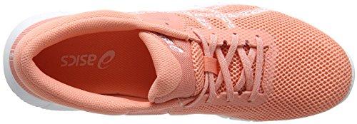 Asics Damen Nitrofuze 2 Laufschuhe Pink (Begonia Pinkwhitewhite 0601)