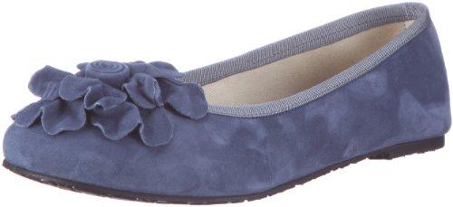 Debbie 9701, Damen Ballerinas, Blau (Demin blu), EU 41 (Collection Plätze Wildleder)