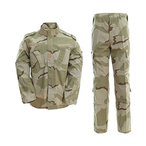 DRAGONPRO AU001 ACU Uniform Set 3-Color Desert XL -