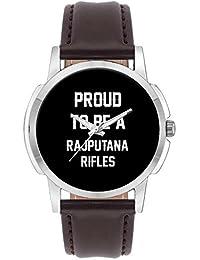 Wrist Watch For Men - Proud To Be A Rajputana Rifles Best Gift For RAJPUTANA RIFLES - Analog Men's And Boy's Unique...