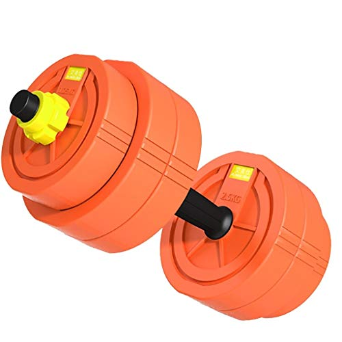 WSC Hanteln, Heimfitnessgeräte für Männer, Trainingsarmmuskeln 22 Pfund (10 Pfund Hanteln Neopren)
