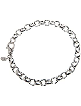 Erbskette Armband 7mm - 925 Sterling Silber, Länge 16-25cm …