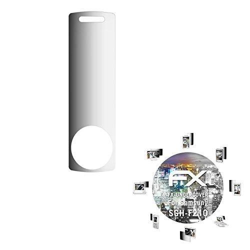 Samsung SGH-F210 Blickschutzfolie - atFoliX FX-Undercover 4-Wege Sichtschutz Blickschutzfilter