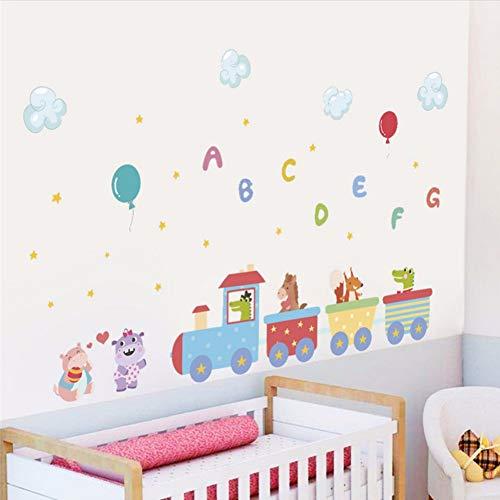 sch Brief Ballon Wandaufkleber Für KinderzimmerWand Aufkleber Wandaufkleber Kinder Party Decor ()