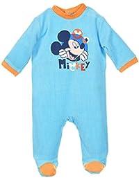 Pijama bebé niño Disney Mickey azul y gris de 3a 23meses