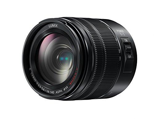 Panasonic H-FS14140EKA LUMIX G Vario Super Zoom 14-140 mm F3.5-5.6 ASPH. Objektiv (28-280 mm KB, Power O.I.S. Bildstabiliator) schwarz Panasonic Super-zoom-kamera