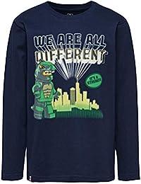 bbce891b9 Camisetas de manga larga para niño