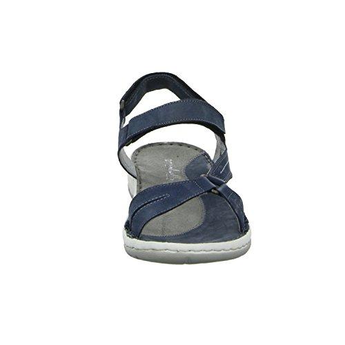 scarbella 886816040 Damen Sandalette sportlicher Boden Blau (Blau)
