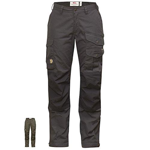 Fjallraven -  Pantaloni  - Donna Black-Black (550-550)