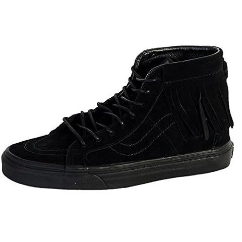 Vans Sk8 Hi Moc Schuhe 8,5 black