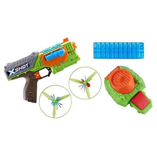 XShot ZU099.00 X-Shot Attack Swarm Seeker Dart-Blaster / Bug-Launcher Pack
