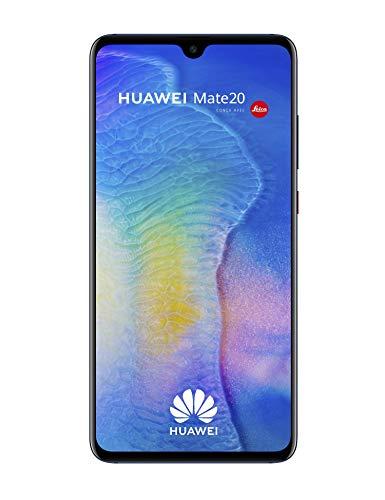 Huawei Mate 20 Smartphone débloqué 4G (6,53 pouces - 128 Go/4 Go - Double Nano-SIM ou Nano-SIM + carte Nano-SD - Android) Bleu [Version européenne]