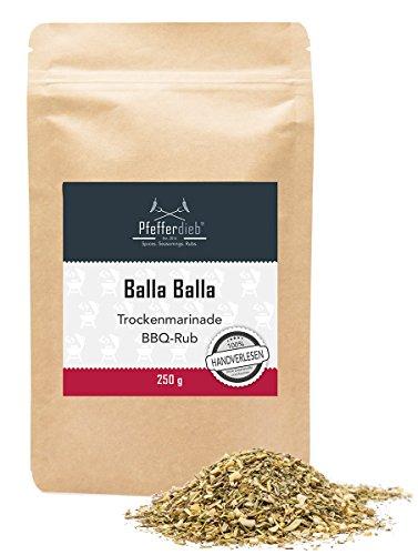 BALLA BALLA by Pfefferdieb® - BBQ Rub mediterran, 250g