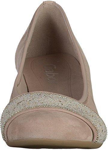 bb239fee0180 GABOR Damen Pumps Beige Schuhe in Übergrößen Beige -freischaffender ...