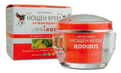 Rooibos Intensive RePaar Anti-Falten Nachtcreme mit Argan Öl & Rooibos Extrakt - keine Tierversuche...