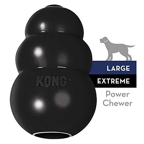 KONG - Extreme - Juguete robusto caucho natural negro