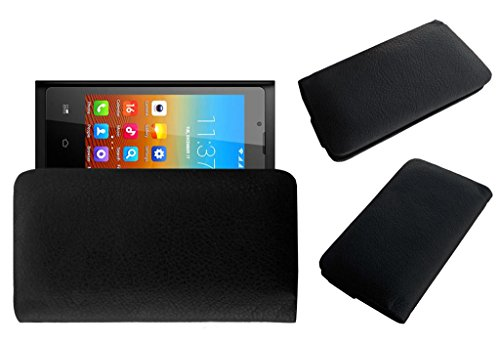 Acm Rich Leather Soft Case For Bq S37 Ips Mobile Handpouch Cover Carry Black  available at amazon for Rs.179