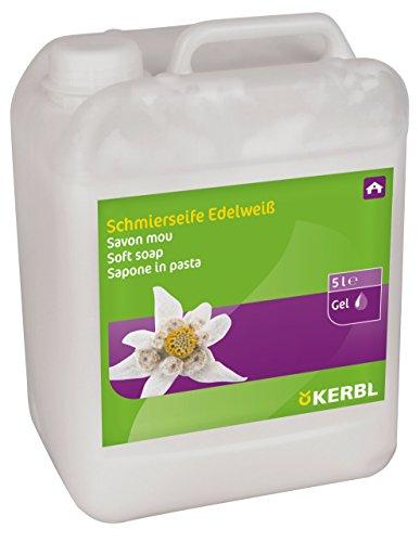 Kerbl 15308 Schmierseife Edelweiß, dickflüssig, 5000 ml Kanister