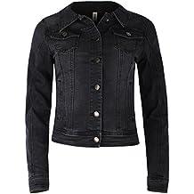 sports shoes 8d728 b3e47 Suchergebnis auf Amazon.de für: schwarze jeansjacke damen