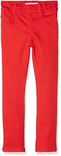 NAME IT Mädchen Nittinna Skinny TWI Legging F Mini Noos-13148794 Hose, Rot True Red, 110