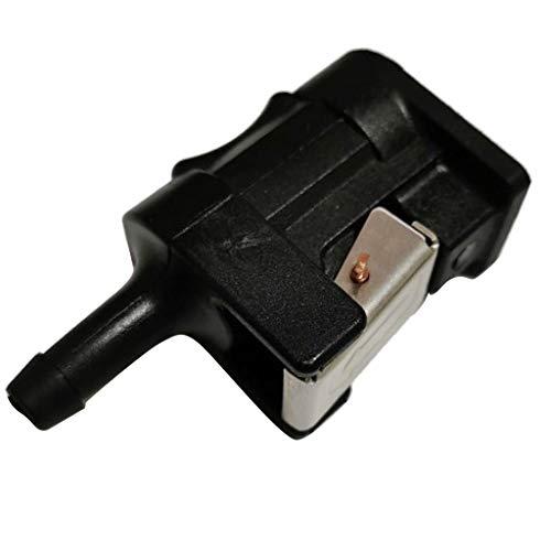 Shiwaki 8mm Weiblicher Kraftstoffschlauch Verbinder Schnellkupplung Schlauchkupplung für Yamaha Außenbord Motor