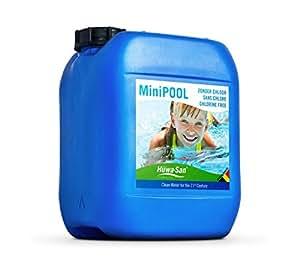 huwa san minipool chlorfreie all in one wasser poolpflege wasserstoffperoxid basis 7 9 5l. Black Bedroom Furniture Sets. Home Design Ideas